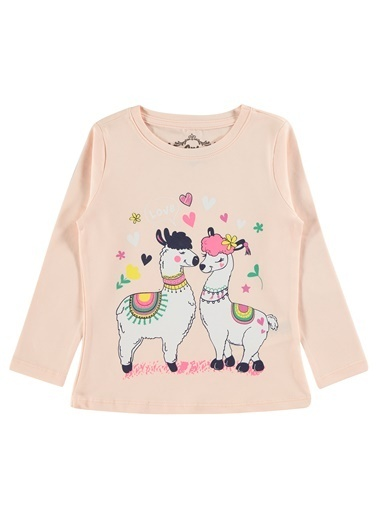 Civil Girls Kız Çocuk Sweatshirt Somon